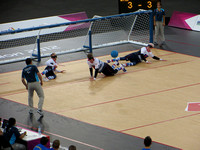 London 2012 Paralympic Goalball